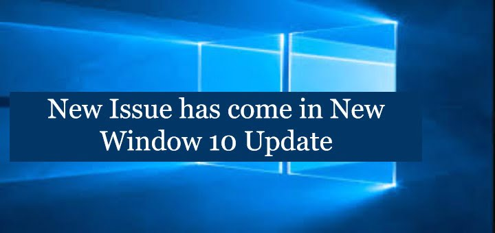 New Windows 10 Update
