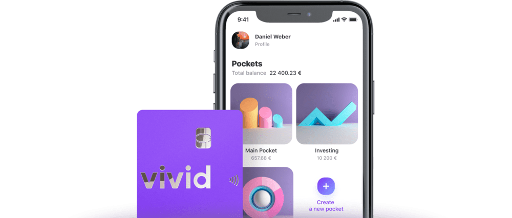 Vivid is a new Competitor bank made on top of Solarisbank